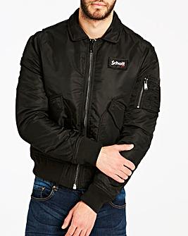 Schott Nylon Bomber Jacket
