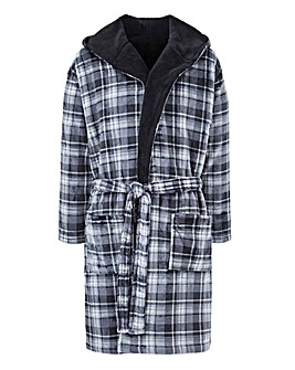Joe Browns Check Dressing Gown