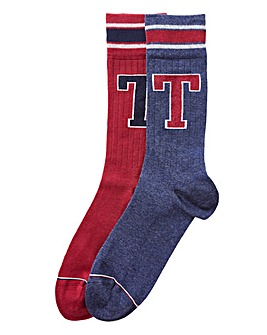 Tommy Hilfiger Pack of Two Socks