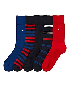 Tommy Hilfiger Pack of 5 Gift Box Socks