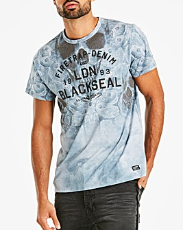 Firetrap Death Moth T-Shirt Regular