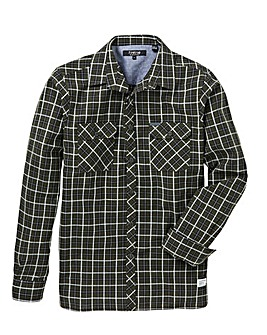 Firetrap Sabotage Check Shirt Long