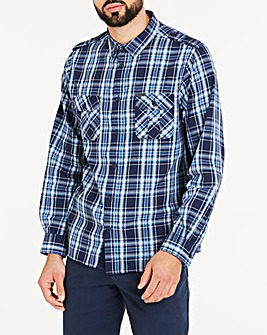 Firetrap Check Shirt Long