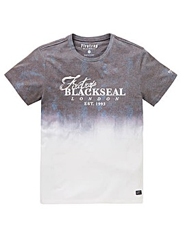 Firetrap Blackseal Fade T-Shirt Regular