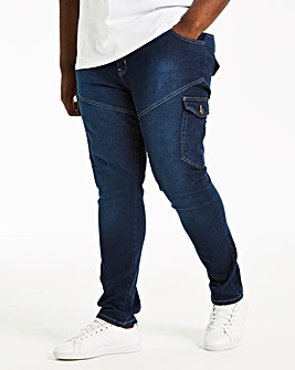 Tapered Cargo Jean