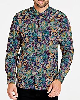 Joe Browns Pop Of Paisley Shirt Long