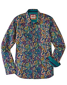 Joe Browns Pop Of Paisley Shirt Regular