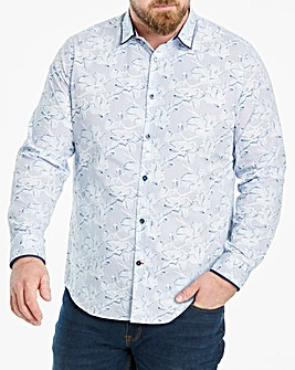 Joe Browns Stripe Floral Shirt Regular