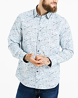 Joe Browns Stripe Floral Shirt Long