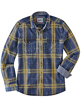 Joe Browns Checked Perfection Shirt Reg