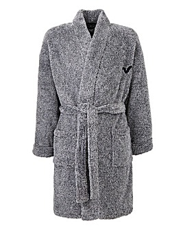 Voi Charcoal Dressing Gown