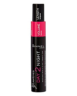 Rimmel Glam Day-to-Night Mascara Black