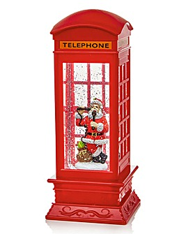 Red Telephone Box Water Spinner
