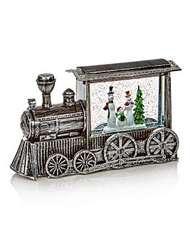 29cm Silver Train Water Spinner