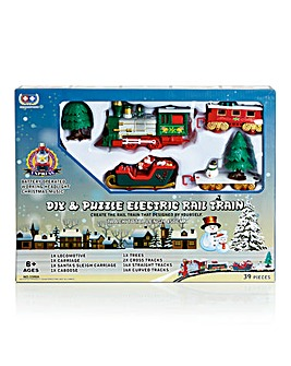 39pc DIY Puzzle Train Track