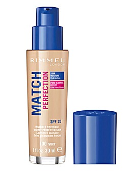 Rimmel Match Perfection Foundation 100