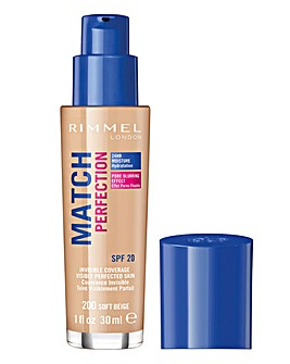 Rimmel Match Perfection Foundation 200