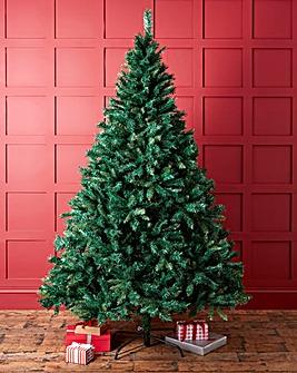 Green Shimmer Pine Tree Iridescent Tips