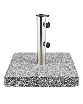 25kg Square Granite Parasol Base