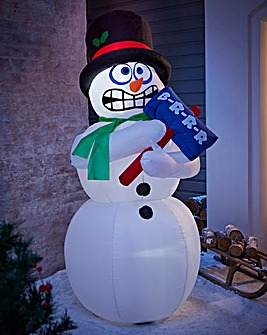 1.8M Inflatable Shaking Outdoor Snowman