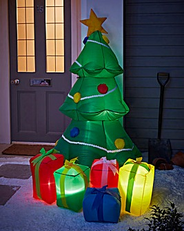1.5M Inflatable Outdoor Xmas Tree