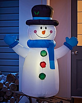1.2M Inflatable Outdoor Snowman