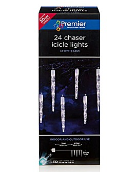 24 Chaser Icicles Outdoor