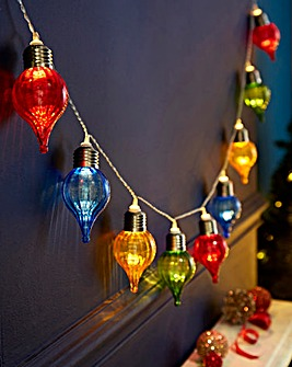 Coloured Onion 10 Battery String Lights