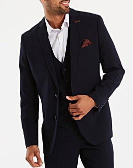 joe browns navy 365 suit jacket regular jacamo