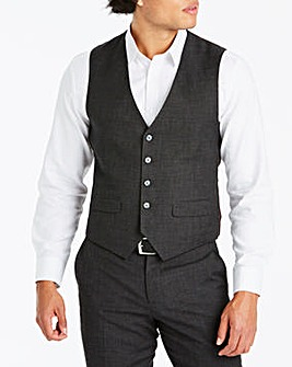 Joe Browns Charcoal 365 Suit Waistcoat Regular