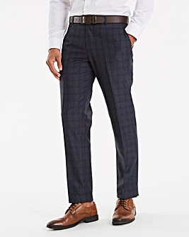Joe Browns Harley Blue Check Suit Trousers 33 In