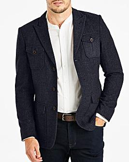Joe Browns Navy 4 Pocket Wool Blazer R