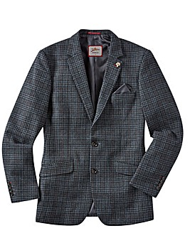 Joe Browns Black Check Wool Blazer R