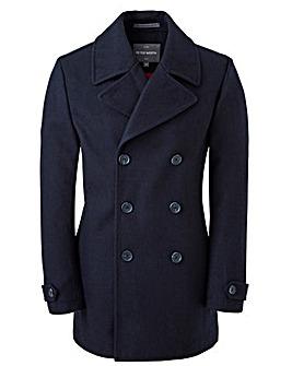 Peter Werth Navy Wool Pea Coat