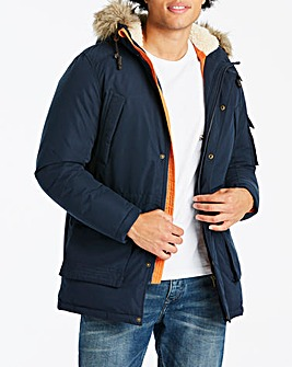 Jack & Jones Latte Eclipse Parka