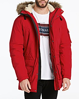 Jack & Jones Latte Scarlet Parka
