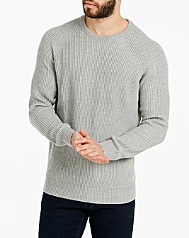 Jack & Jones New Panel Knit Jumper