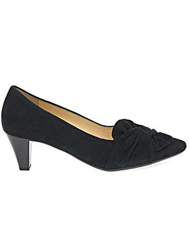 Gabor Tricky Womens Bow Court Shoes