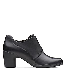 Clarks Un Rosa Zip D Fitting