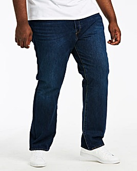 Levi's 501® (Big & Tall) Button Fly Straight Fit Jean 32in