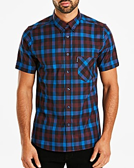 Ben Sherman Multi Gingham Shirt L
