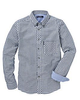 Ben Sherman Brush Gingham Shirt R
