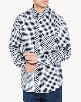 Ben Sherman Brush Gingham Shirt L