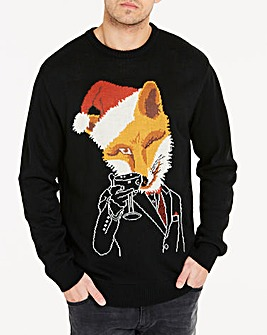 Joe Browns Festive Fox Jumper