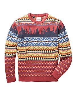 Joe Browns Farisle Christmas Jumper