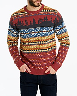 Joe Browns Fairisle Christmas Jumper