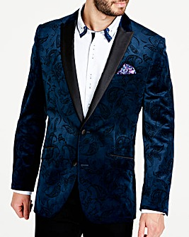 Joe Browns Paisley Velvet Blazer