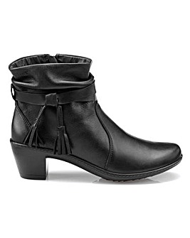 Hotter Phoebe Mid Heel Ankle Boot