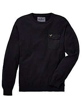 Voi Bate Pocket Crew Jumper