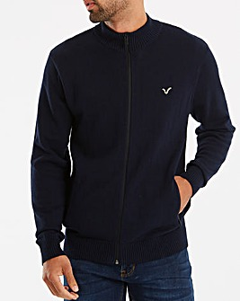 Voi Decoy Knitted Zip Through
